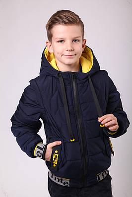 Куртка весняна для хлопчика 34-38