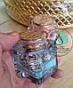 Декоративная гелевая свеча морская, фото 3