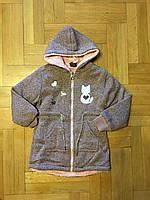 Удлинённая Термо -пайта на меху для девочек,размеры 116 см.Фирма GRACE ,Венгрия, фото 1