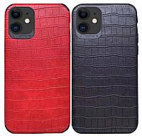 Кожаная накладка Epic Vivi Crocodile series для IPhone 11, фото 1