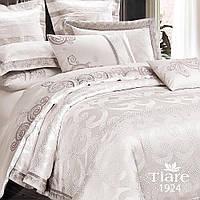 Комплект постельного белья сатин жаккард Tiare  - Двуспальный Евро (1924)