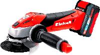 Болгарка аккумуляторная Einhell Expert Plus TE-AG 18/115 Li Kit (1х3,0Ah)