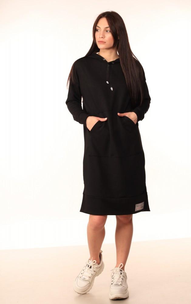 Платье-Худи Quest Wear чёрное