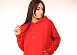 Платье-Худи Quest Wear красное, фото 4