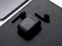 Беспроводные наушники TWS AP2 inPods12 Macaroon JKR | Touch Sensor + PopUp + wireless chargin Черный