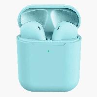 Беспроводные наушники TWS AP2 inPods12 Macaroon JKR | Touch Sensor + PopUp + wireless chargin Голубой