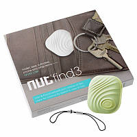 Поисковой Брелок NUT 3 Original (трекер) для поиска вещей, телефона, ключей, кошелька, животных Зеленый