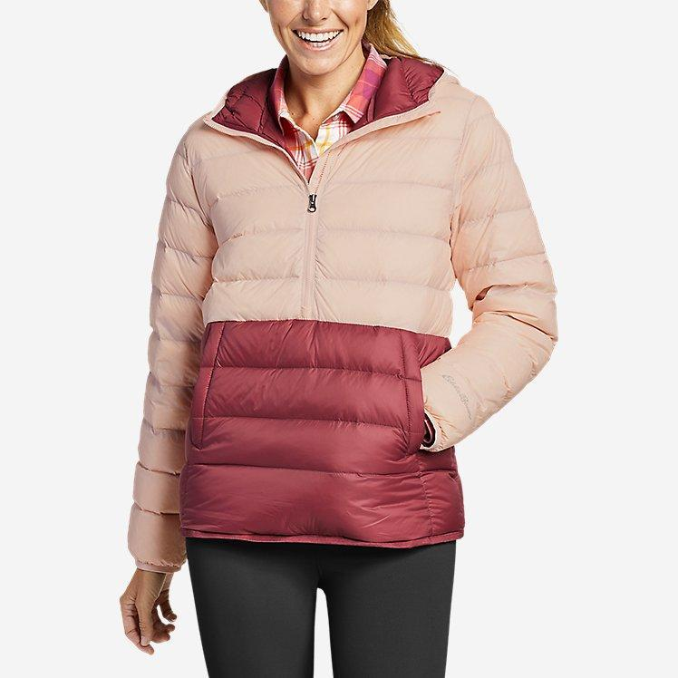 Женский пуховый анорак Eddie Bauer Women's CirrusLite Down Pullover Pink S