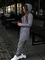 Парка женская весенняя / осенняя / куртка демисезонная ALL REAL X grey ЛЮКС качества