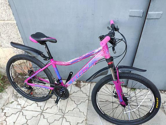 """Алюминиевый горный женский велосипед 26"""" TITAN MILANO (21 speed, Lockout, Shimano), фото 2"""