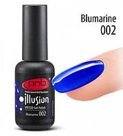 Гель-лак витражный PNB  Illusion Blumarine № 002 , 8 мл