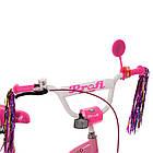 Велосипед детский двухколесный PROFI Y1821-1 Bloom 18 дюймов розовый, фото 3