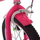 Велосипед детский двухколесный PROFI Y1821-1 Bloom 18 дюймов розовый, фото 4