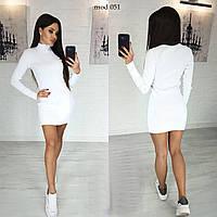 Платьемодное белое. Платьице короткое