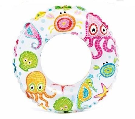 Круг надувной детский Intex Осьминожки 51см 3-6 лет (59230)