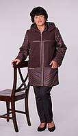 Куртка женская стеганная с кашемиром., фото 1