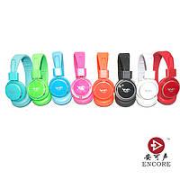 Беспроводная накладная Bluetooth гарнитура TYMED TM-001 блютуз+MP3 плеер+FM радио