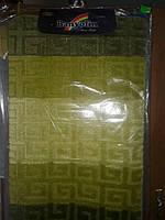 Коарик в ванную Banyolin  60×100 см ворсистый зеленый полоса