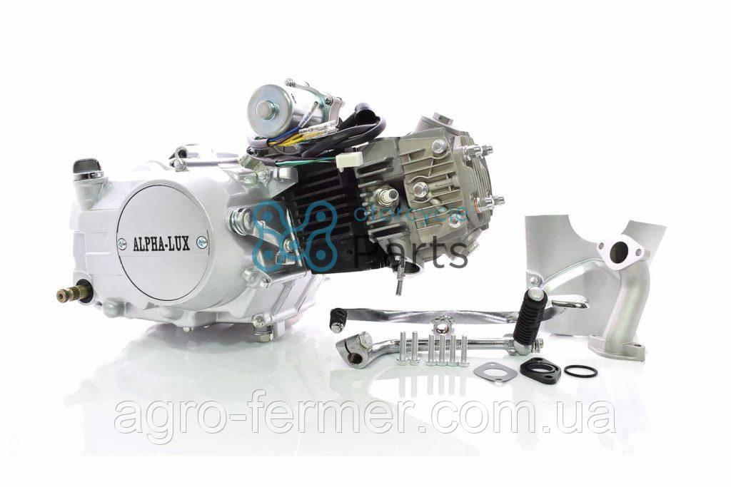 Двигатель для скутера, мопеда Актив (110CC) полуавтомат