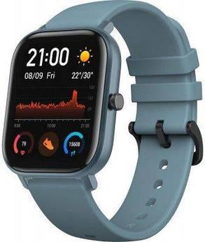 Smart Watch Amazfit GTS Steel Blue Гарантия 12 месяцев, фото 2
