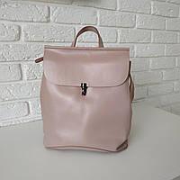"""Женский кожаный рюкзак """"Кристи Light Pink"""", фото 1"""