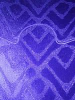 Набор ковриков в ванную и туалет с вырезом  Dariana антискользящий синий  55×80+55×42 ворсистый