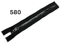 Молния Черная 18см квадратный зуб №5 тракторная 590тон пластиковая карманная