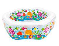 """Детский надувной бассейн """"Океанский риф"""" Intex 56493 (191х178х61 см.)"""