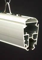 Профиль алюминиевый подвесной усиленный, синий цвет