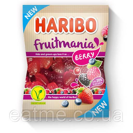 Haribo Fruitmania berry Желейные конфеты со вкусом ягод