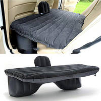 Автомобильный матрас WOW надувной автоматрас с подушками и электронасосам Черный