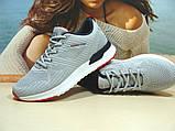 Мужские кроссовки BaaS Running - 2 светло-серые 42 р., фото 2