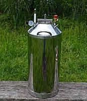 Автоклав бытовой МЕГА-50 (нержавеющая сталь, огневой)