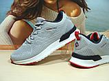 Мужские кроссовки BaaS Running - 2 светло-серые 42 р., фото 8
