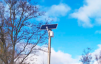 Села на Житомирщине освещают солнечными панелями