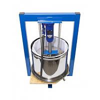 Гидравлический пресс для сока Triniti, 25 л с домкратом 5 тонн (нержавейка)