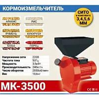 Зернодробилка МИНСК МЗТ МК-3500 (зерно + початки кукурузы)