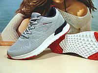 Мужские кроссовки BaaS Running - 2 светло-серые 44 р., фото 1