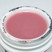 Камуфлирующий гель для наращивания однофазный чайная роза Global Fashion 15 ml