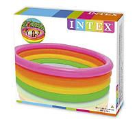 Бассейн детский надувной Intex 56441 Веселые колечки, фото 2