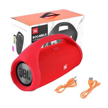 Портативная колонка JBL Boombox big. red (Красный) Джибиэль бумбокс 40 ват. Блютуз