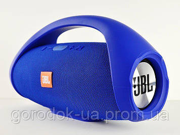 Портативная колонка JBL Boombox big. blue (Синий).Джибиэль бумбокс 40 ват. Блютуз.