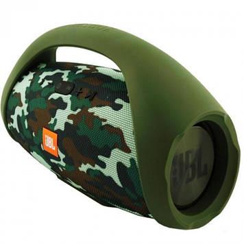 Портативная колонка JBL Boombox big. camouflage (Камуфляж). Джибиель бумбокс 40 ват. Блютуз.