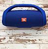 Портативна колонка JBL Boombox mini Blue (Синій). Джибиэль бумбокс міні. Блютуз колонка, фото 9