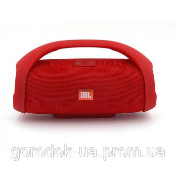 Портативная колонка JBL Boombox mini. Red (Красный). Джибиэль бумбокс мини. Блютуз колока