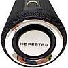 Портативная Bluetooth колонка HOPESTAR H39 ЧЁРНАЯ Original (Black). Блютуз колонка хопстар, фото 6