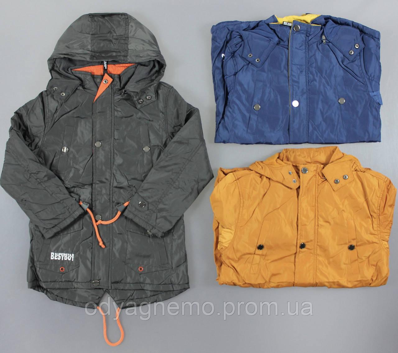 Куртка на флисовой подкладке для мальчиков Grace оптом, 134-164 pp., код:B70873