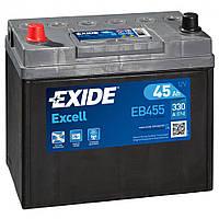 Аккумулятор Exide Excell 6СТ-45 АЗІЯ (EB455)