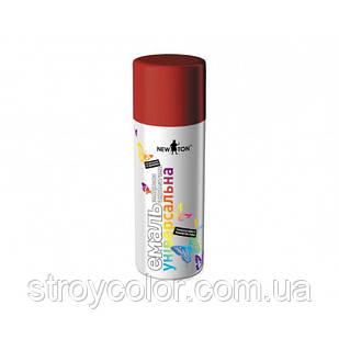 Эмаль-спрей Тёмно-красная RAL 3002 универсальная New Ton 400мл (Краска аэрозольная ньютон newton)