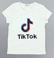 Футболка для девочек Tik Tok Glo-Story оптом, 134-164 pp. Артикул: GPO-B0521, фото 1